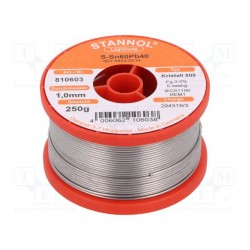 Estaño 1 mm 250 gr STANNOL 810603